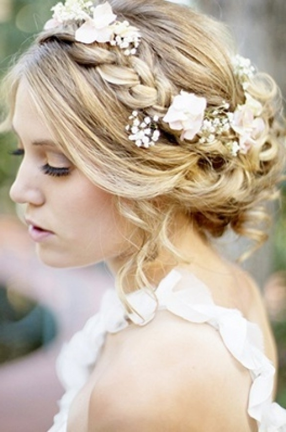 Wedding Hairstyles That Cover Your Ears – Women Hairstyles With Long Wedding Hairstyles With Flowers In Hair (View 15 of 15)