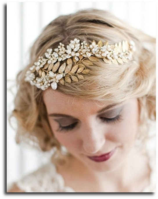 Wedding Hairstyles To Go With Your Tiara Regarding Wedding Hairstyles With Jewelry (View 12 of 15)