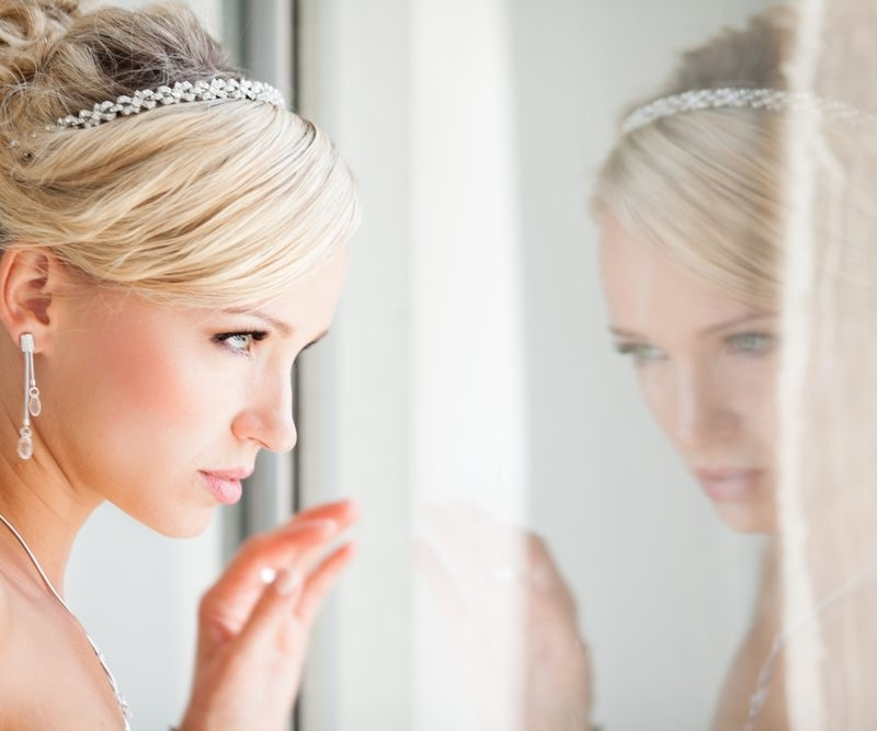 Featured Photo of Wedding Hairstyles To Match Your Dress