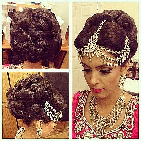 Wedding Hairstyles: Unique Asian Wedding Hairstyles For Long Hair In Asian Wedding Hairstyles For Long Hair (View 15 of 15)