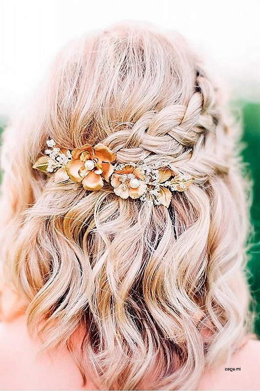 Wedding Hairstyles: Unique Wedding Hairstyles For Medium Length Hair Regarding Elegant Wedding Hairstyles For Medium Length Hair (View 15 of 15)