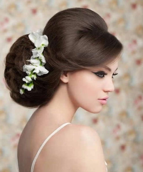 Wedding Hairstyles : Updo Vintage Hairstyles For Long Hair (View 13 of 15)