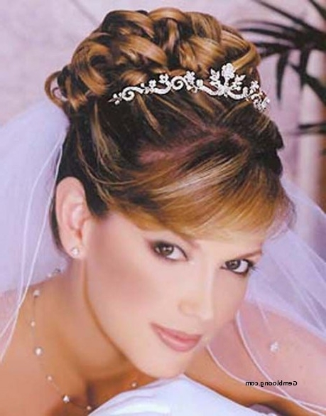 Wedding Hairstyles Updo With Tiara Inspirational Gallery Wedding In Tiara Wedding Hairstyles (View 15 of 15)