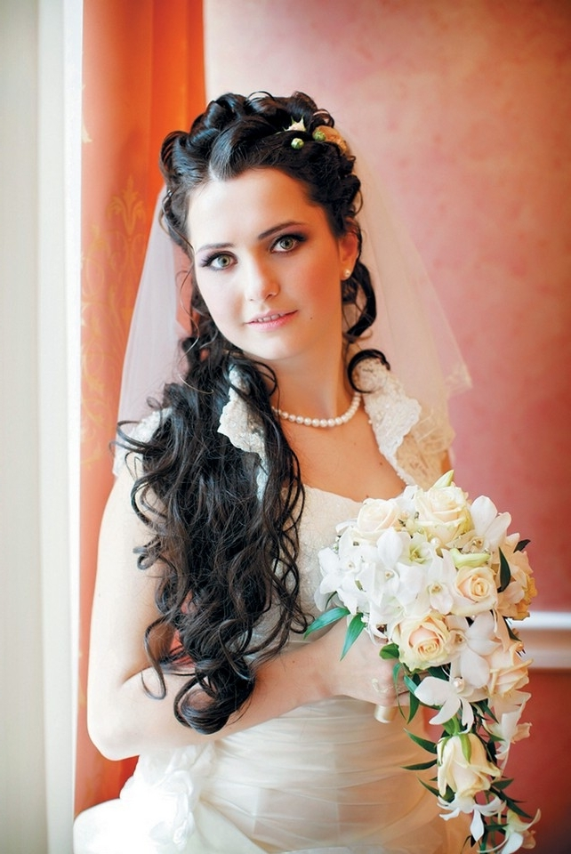 Wedding Hairstyles Updos With Veil 2012 Intended For Wedding Hairstyles With Tiara And Veil (View 13 of 15)