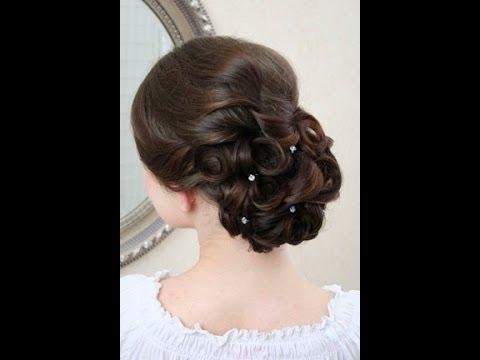 Wedding Hairstyles Video Tutorial – Youtube For Wedding Juda Hairstyles (View 3 of 15)