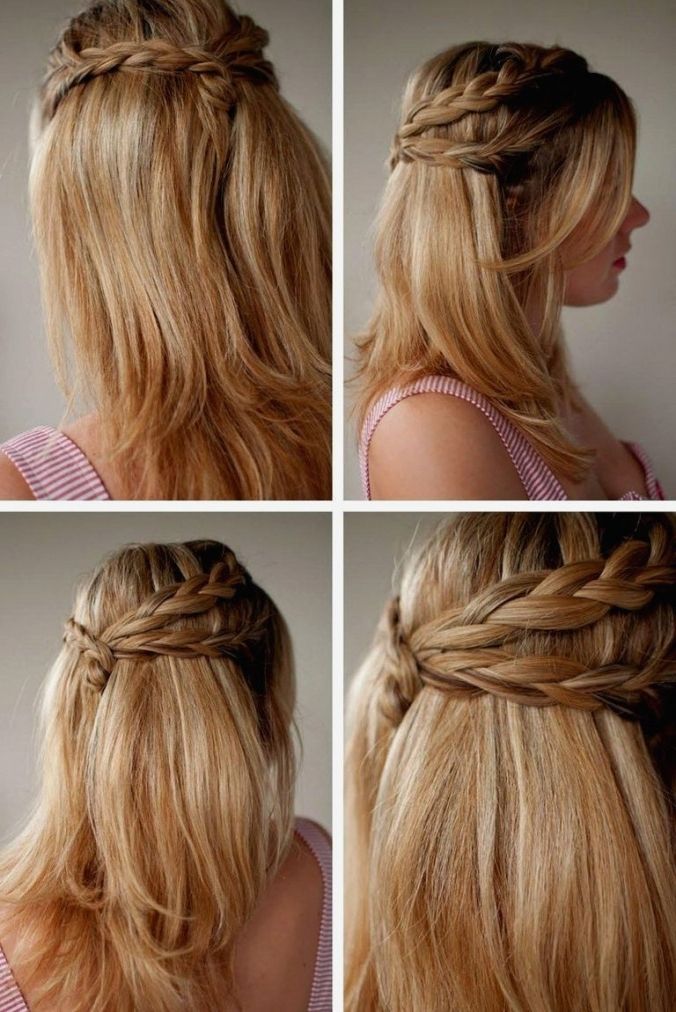 Wedding Hairstyles : Wedding Hairstyles For Long Straight Hair Down With Regard To Wedding Hairstyles For Long Straight Hair (View 14 of 15)