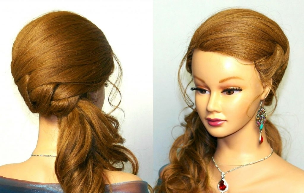 Wedding Hairstyles Wedding Prom Hairstyle For Long Hair Tutorial In Wedding Prom Hairstyles For Long Hair Tutorial (View 9 of 15)