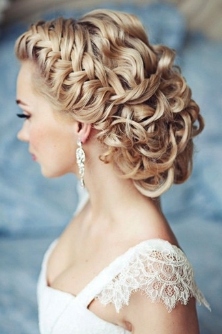 Wedding Hairstyles With Braids And Get Ideas How To Change Your With Wedding Hairstyles With Plaits (View 14 of 15)