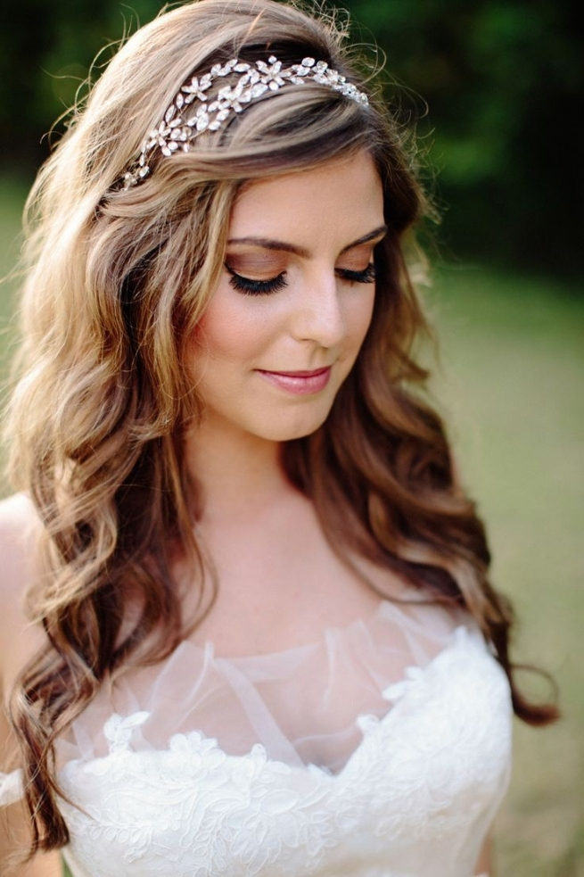 Wedding Hairstyles With Headband Wedding Hairstyles Headband Luxury Throughout Wedding Hairstyles With Headband (View 8 of 15)