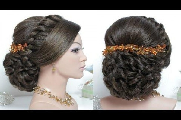 Wedding Hairstylesesther Kinder Fresh Indian Bridal Hairstyles Intended For Wedding Hairstyles By Estherkinder (View 8 of 15)