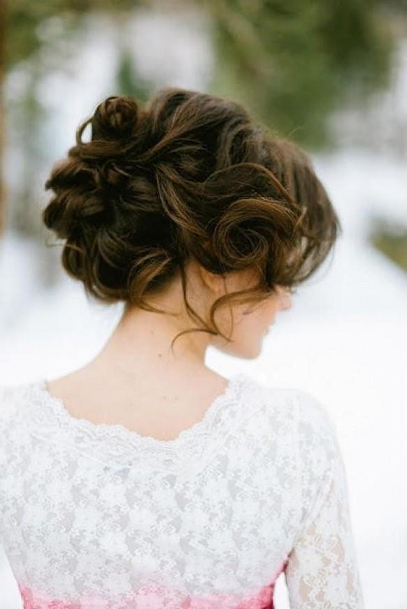 Wedding Ideas – Brown – Weddbook Inside Wedding Hairstyles For Long Brown Hair (View 15 of 15)