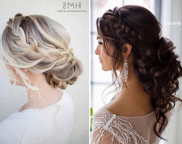 Wedding Online – Hair – 15 Fantasy Pinterest Braid Ideas For Your Throughout Wedding Hairstyles With Plaits (View 3 of 15)
