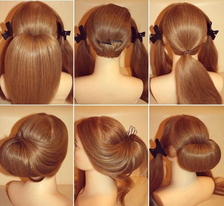 Wedding Prom Hairstyle For Long Hair – Health Banana Pertaining To Wedding Hairstyles At Home (View 5 of 15)