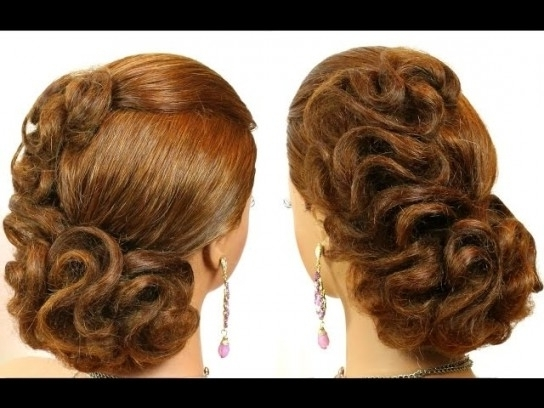 Wedding Prom Hairstyle For Medium Hair (View 4 of 15)