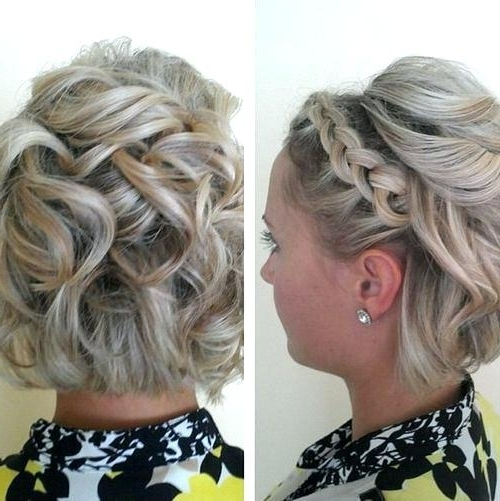 Wedding Styles For Short Hair Cute Wedding Hairstyles For Short Hair In Cute Wedding Guest Hairstyles For Short Hair (View 6 of 15)
