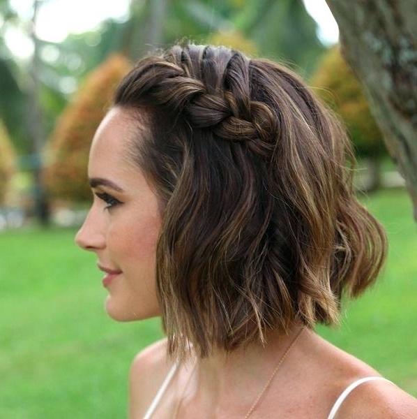 Wedding Styles For Short Hair Short Hair Wedding Styles Short Hair With Wedding Hairstyles For Short Hair And Bangs (View 13 of 15)