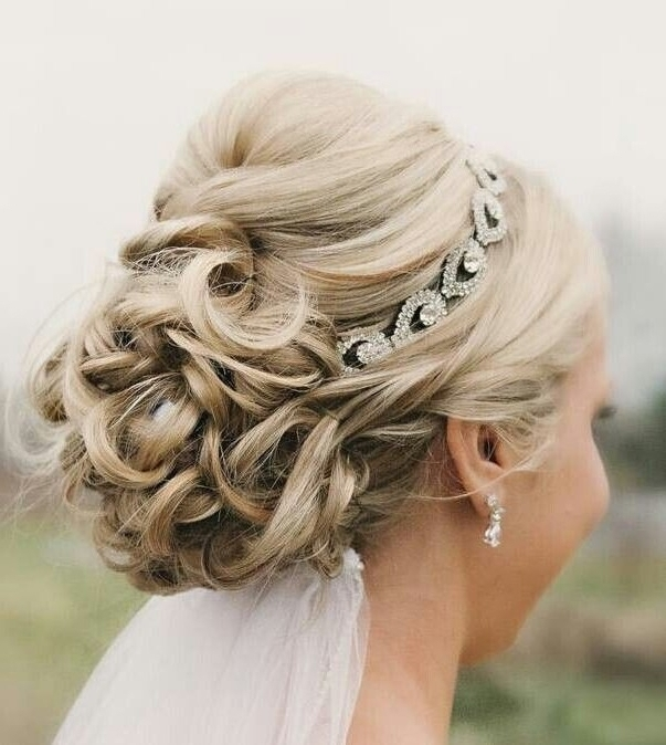 Wedding Styles For Thin Hair Impressive Wedding Hairstyles For Intended For Wedding Hairstyles For Thin Mid Length Hair (View 15 of 15)