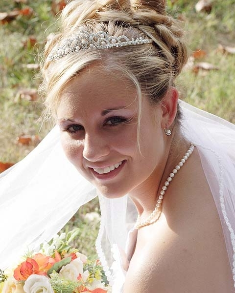 Wedding Tiara Hairstyles | Wedding Hairstyles With Veil Intended For Wedding Hairstyles With Tiara And Veil (View 8 of 15)