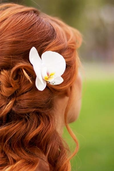 Wedding Updo Hairstyles Short Hair – Wedding Food Ideas Pertaining To Wedding Hairstyles For Red Hair (View 13 of 15)