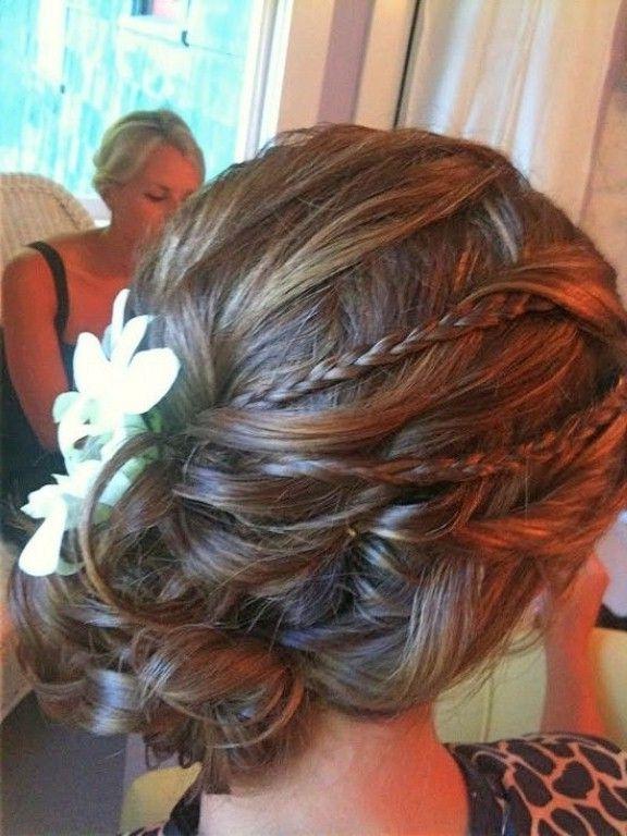 Wedding Updos For Fine Medium Length Hair, Best Wedding Hairstyles With Wedding Hairstyles For Fine Hair Long Length (View 15 of 15)