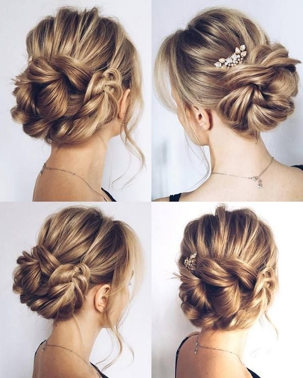 Wedding Updos For Long Hair Bridesmaids 18865 | Fashion Trends Intended For Wedding Hairstyles With Braids For Bridesmaids (View 11 of 15)