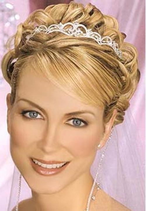 Wedding Updos For Long Hair With Tiara – Di Candia Fashion With Wedding Updos For Long Hair With Tiara (View 2 of 15)