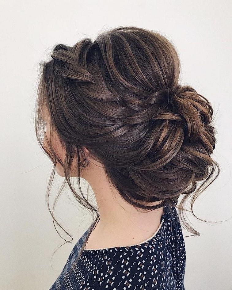 Wedding Updos For Medium Length Hair,wedding Updos,updo Hairstyles Regarding Medium Length Updo Wedding Hairstyles (View 8 of 15)