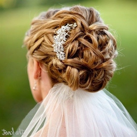 Wedding Updos With Veil Underneath – Skyranreborn Pertaining To Wedding Hairstyles With Veil Underneath (View 4 of 15)