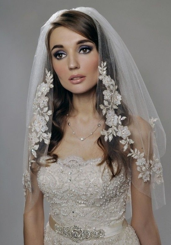 Wedding Viels | Best Medium Hairstyle Wedding Hairstyles With Veil12 Regarding Wedding Hairstyles For Long Hair With Veil (View 6 of 15)