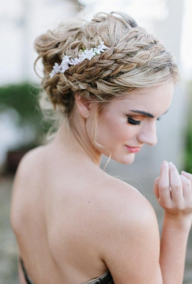 Whimsical Wedding Hairstyle Ideas For Long Hair {Debbie Lourens Regarding Wedding Hairstyles For Long Hair And Fringe (View 14 of 15)