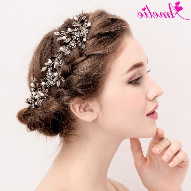 Wholesaler 6Pcs Lot Punk Gothic Ladies Hair Accessories Bride Regarding Wedding Hairstyles With Hair Jewelry (View 5 of 15)
