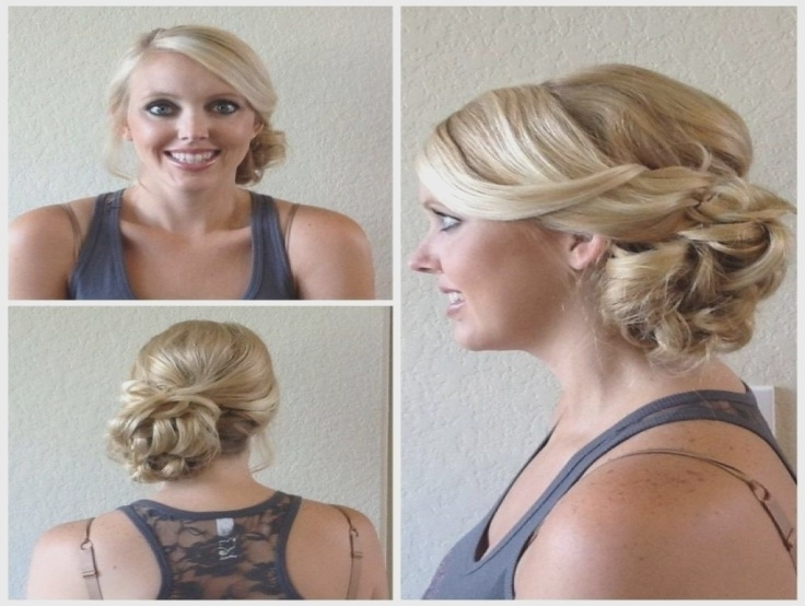Why Is Side Bun Hairstyles Wedding Considered Underrated? – Mndster Intended For Side Bun Wedding Hairstyles (View 14 of 15)