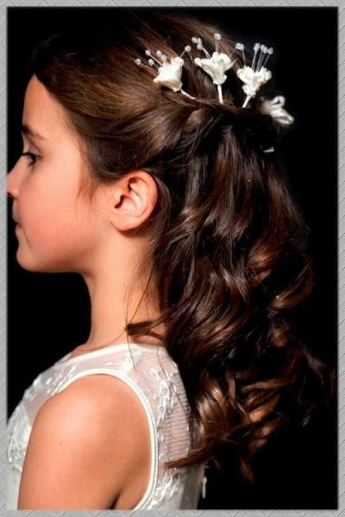 Young Bridesmaid Hairstyle – Google Search | Hairstyles | Pinterest With Wedding Hair For Young Bridesmaids (View 5 of 15)