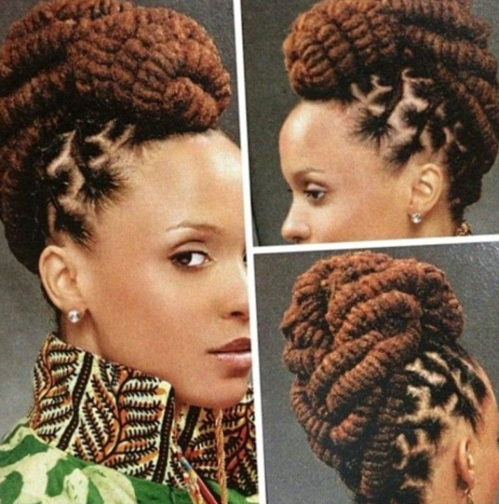 Your Guide To The Best Hairstyles – New Ideas For 2018 In Dreadlocks Wedding Hairstyles (View 7 of 15)