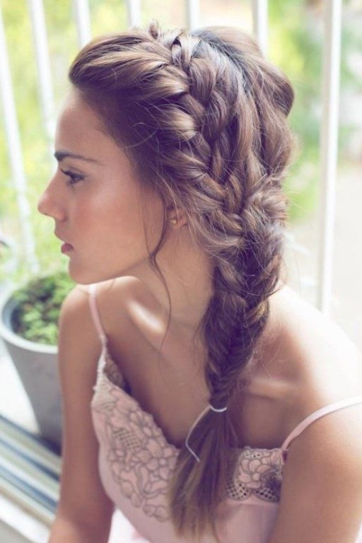 Your Guide To The Best Hairstyles – New Ideas For 2018 Regarding Side Braid Wedding Hairstyles (View 8 of 15)