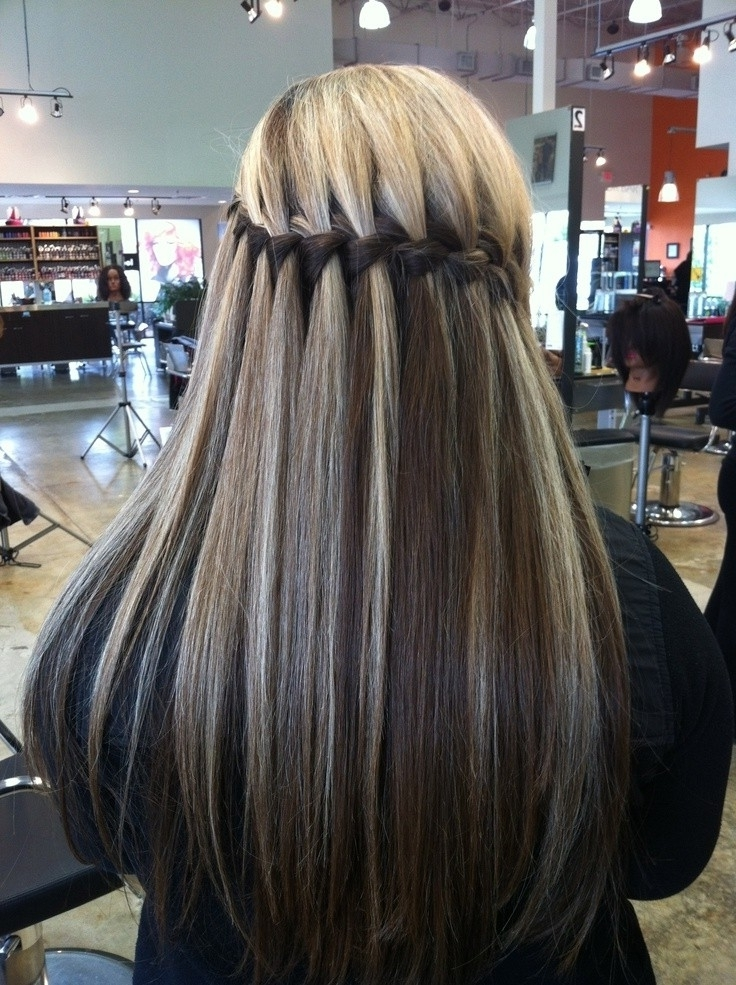 10 Best Waterfall Braids: Hairstyle Ideas For Long Hair – Popular With Regard To Newest Braided Hairstyles For Straight Hair (View 8 of 15)