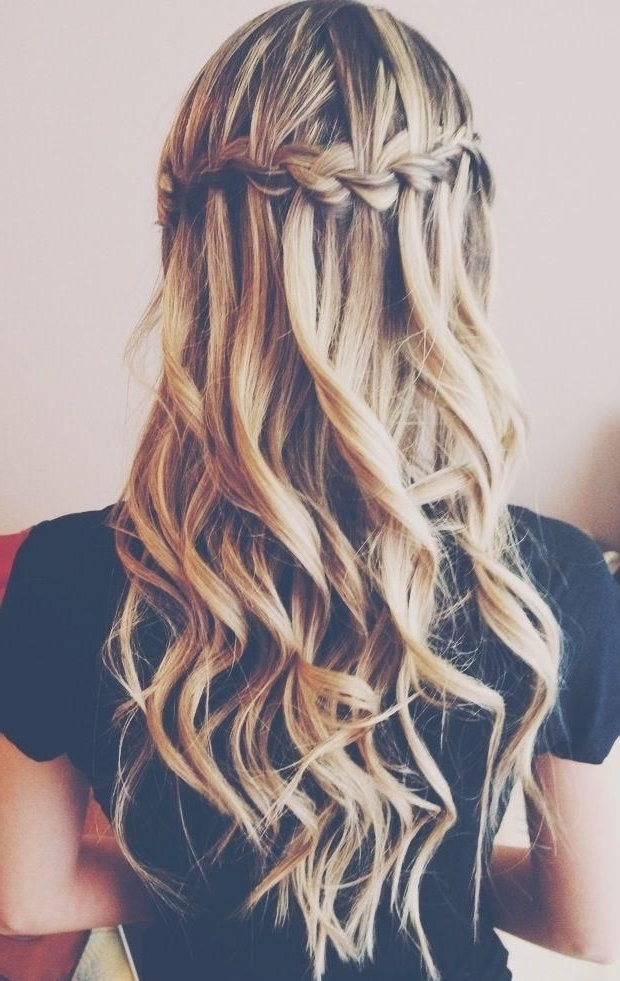 10 Bridal Hairstyle Ideas For Fine Hair - Hair World Magazine with regard to Most Recent Braids And Waves For Any Occasion