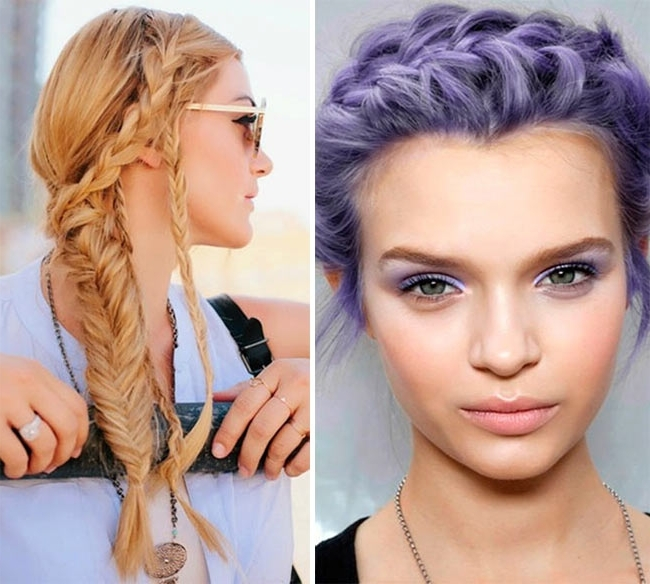 10 Cute And Chic Summer Braided Hairstyles | Hairstyles, Nail Art For Current Braided Hairstyles For Summer (View 5 of 15)