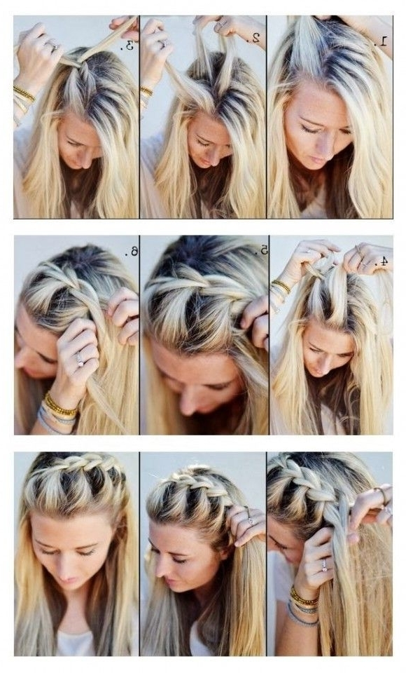 10 Cute Hair Tutorials For Girls | Pinterest | Braid Hair, Brunch Regarding Current Easter Braid Hairstyles (View 1 of 15)