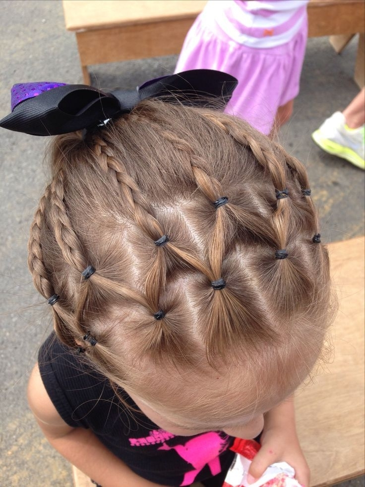10 Easy & Cute Hairstyles For Summers | Pinterest | Dance Recital With Regard To Most Current Braided Hairstyles For Dance Recitals (View 1 of 15)