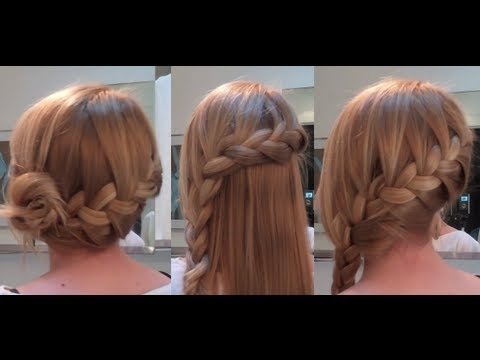 10 Easy Quick Everyday Hairstyles For Long Hair : Side French Braid Pertaining To Most Current Simple French Braids For Long Hair (View 13 of 15)