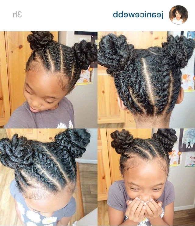 10 Great Twist Hairstyles Of All Time | Hair | Pinterest | Kid Regarding 2018 Mixed Braid Updo For Black Hair (View 7 of 15)