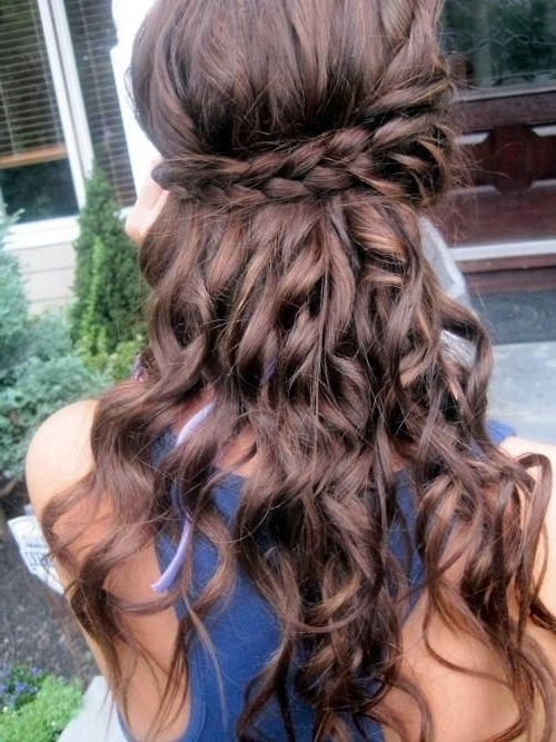 10 Half Up Braid Hairstyles Ideas – Popular Haircuts Inside Most Popular Down Braided Hairstyles (View 12 of 15)