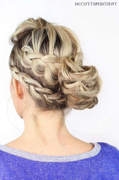 10 Hot Weather Hairstyles To Beat The Heat | Fashionisers With Regard To Most Recent Messy Double Braid Hairstyles (View 1 of 15)