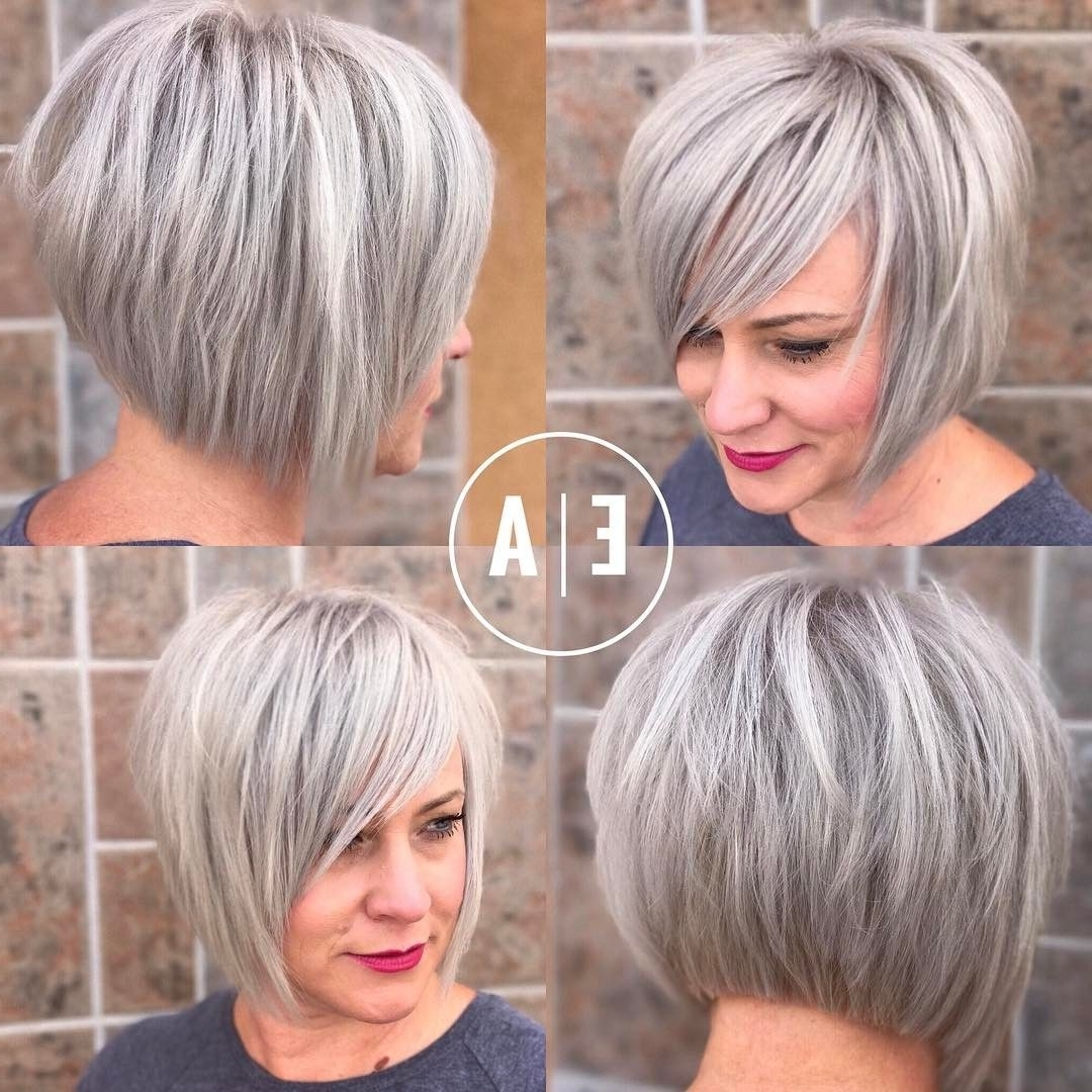 10 Hottest Short Haircuts For Women 2018 – Short Hairstyles For Intended For 2018 Blonde Pixie Haircuts With Short Angled Layers (View 6 of 15)