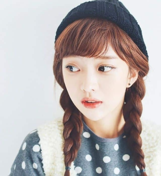 10 Korean Hairstyles – Wiseshe With Most Popular Korean Braided Hairstyles (View 11 of 15)