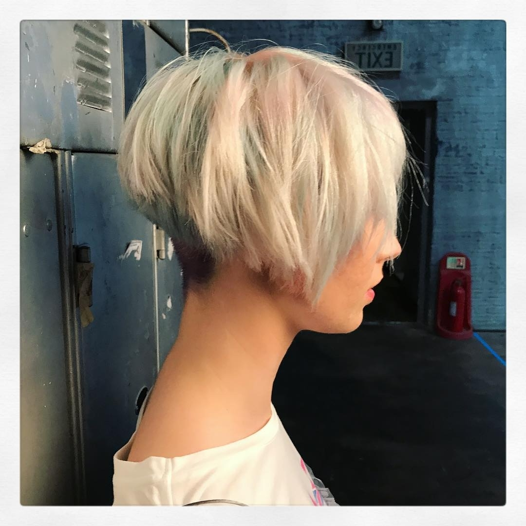 10 Layered Bob Hairstyles – Look Fab In New Blonde Shades! – Popular In Latest Pastel And Ash Pixie Haircuts With Fused Layers (View 13 of 15)