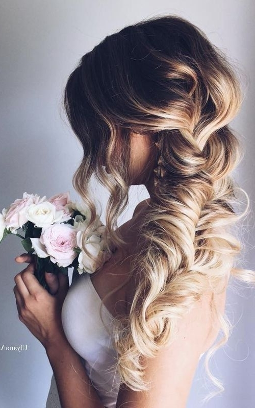 10 Pretty Braided Wedding Hairstyles | Gorgeous Hair | Pinterest Inside Newest Messy Loosely Braided Side Downdo (View 10 of 15)