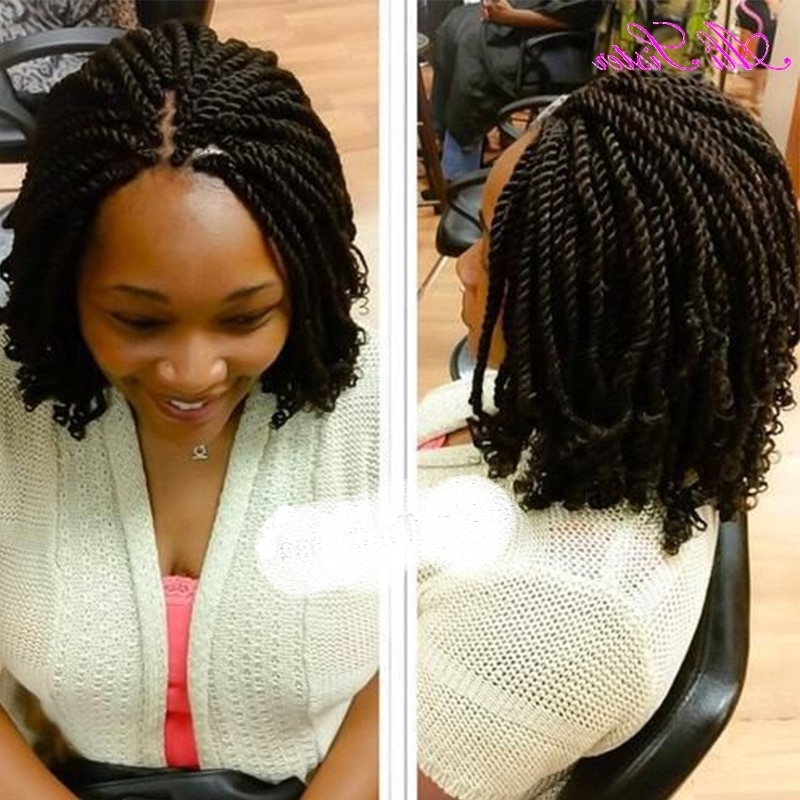 "10"" Senegalese Twist Hair Synthetic Braiding Hair Extention Crochet With 2018 Braided Hairstyles For Swimming (View 15 of 15)"