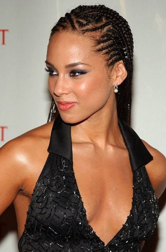 10 Super Hot Black Braided Hairstyles For Oval Faces|Designideaz In Most Popular Cornrows Hairstyles For Oval Faces (View 8 of 15)